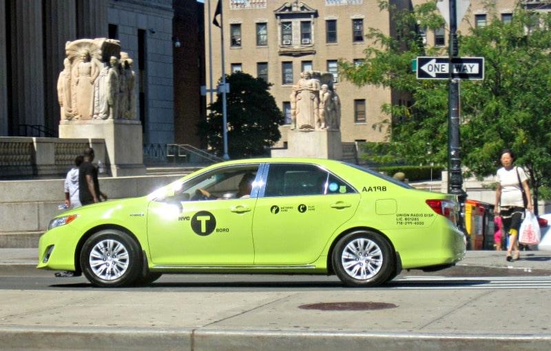 Taxi vert de New York