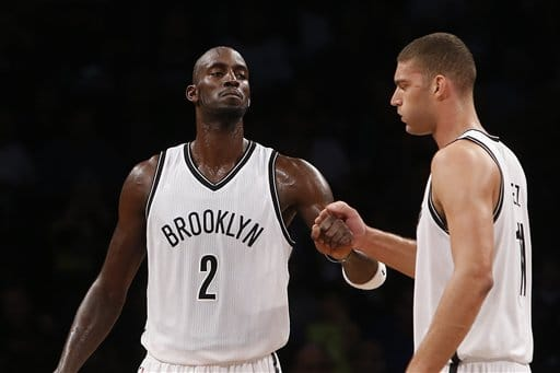 Brooklyn Nets' Kevin Garnett