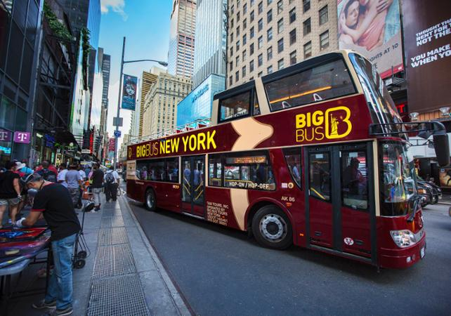 Bus hop on hop off New York