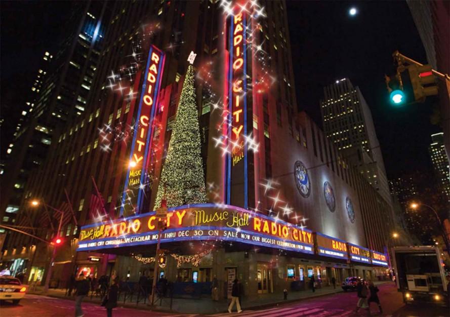 le « Radio City Christmas Spectacular », dans laquelle jouent les célèbres Rockettes