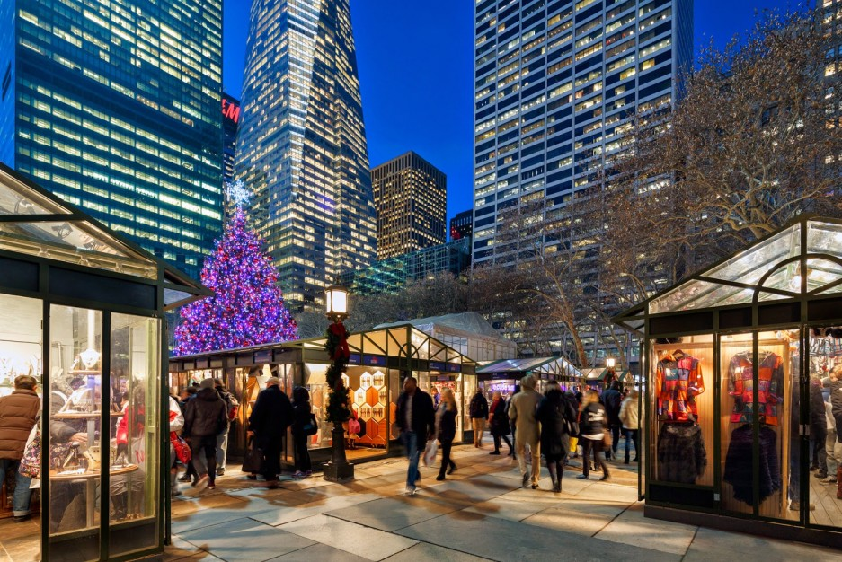 Holiday Shops à Bryant Park Winter Village