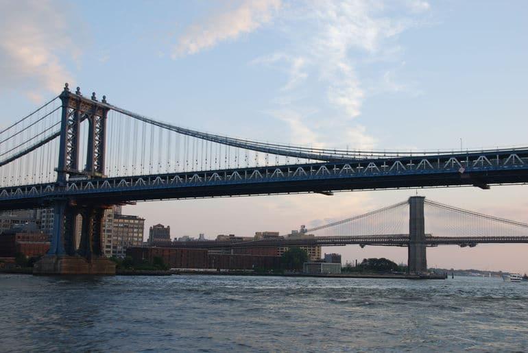 croisière New York au coucher du soleil