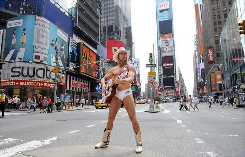 Naked Cowboy Times Square