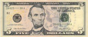 billet-5-dollars