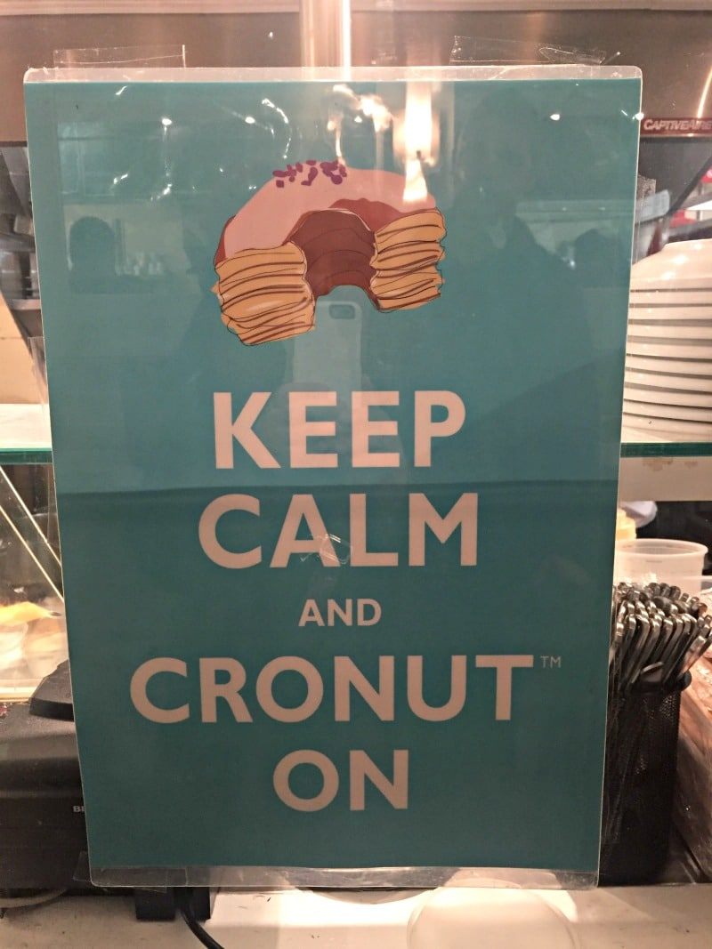Keep calm and cronut on