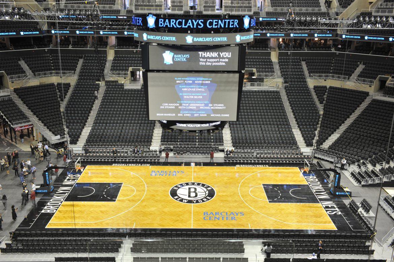 Assister 224 Un Match De Basket Ball Au Barclays Center
