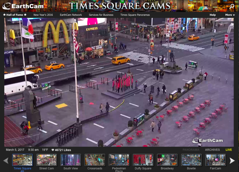 EarthCam New York