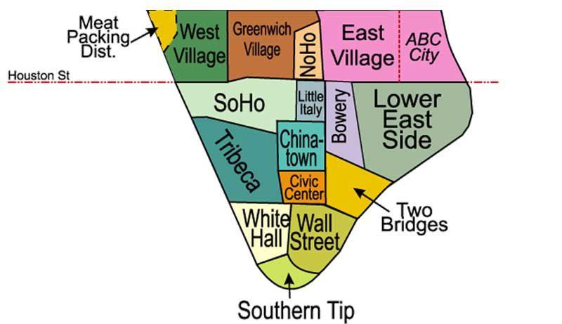 Quartiers de-Manhattan-Downtown
