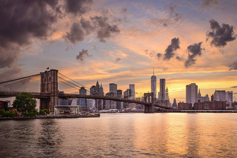 coucher du soleil New York