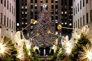 sapin de Noël au Rockefeller Center