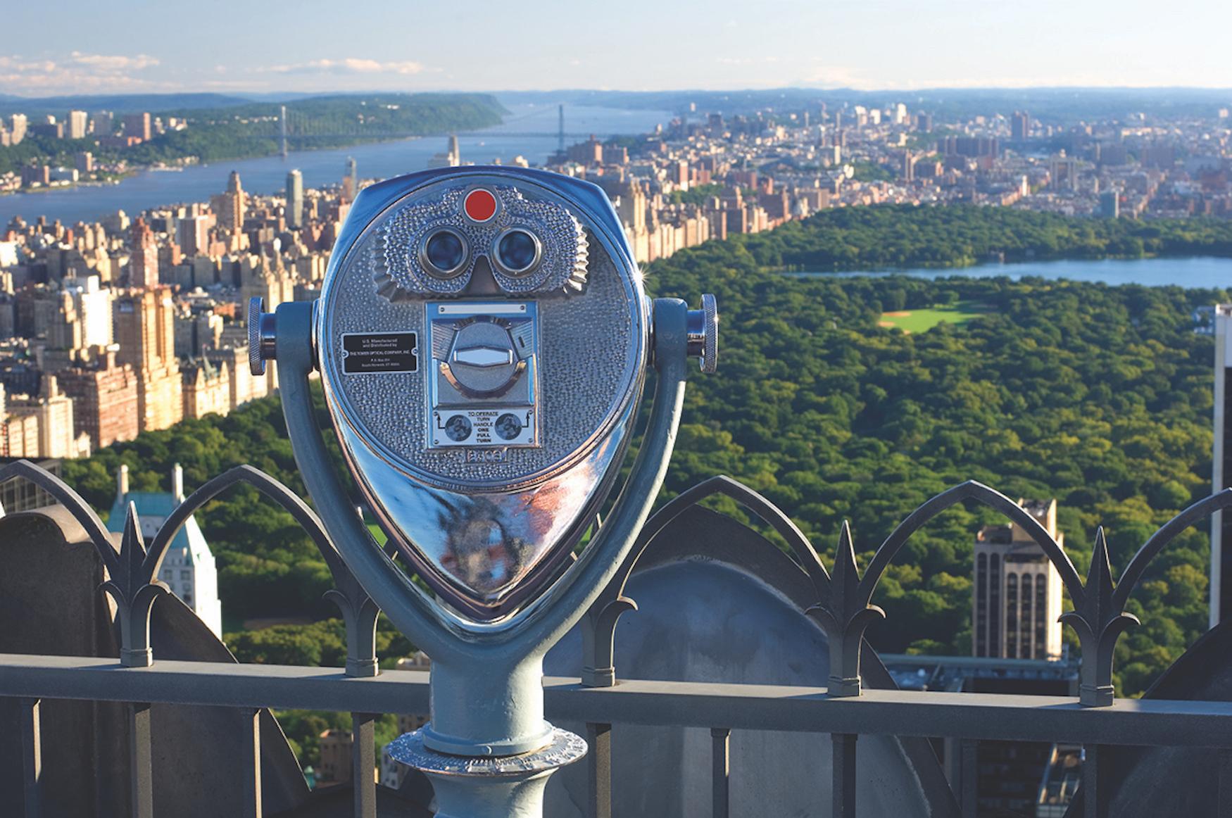 Top of the rock : Rockefeller Center
