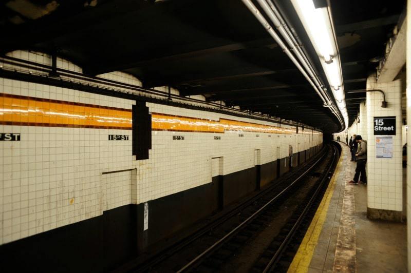 Prendre le métro New York